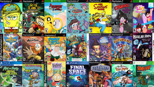 Animated TV Show Video Game Collection