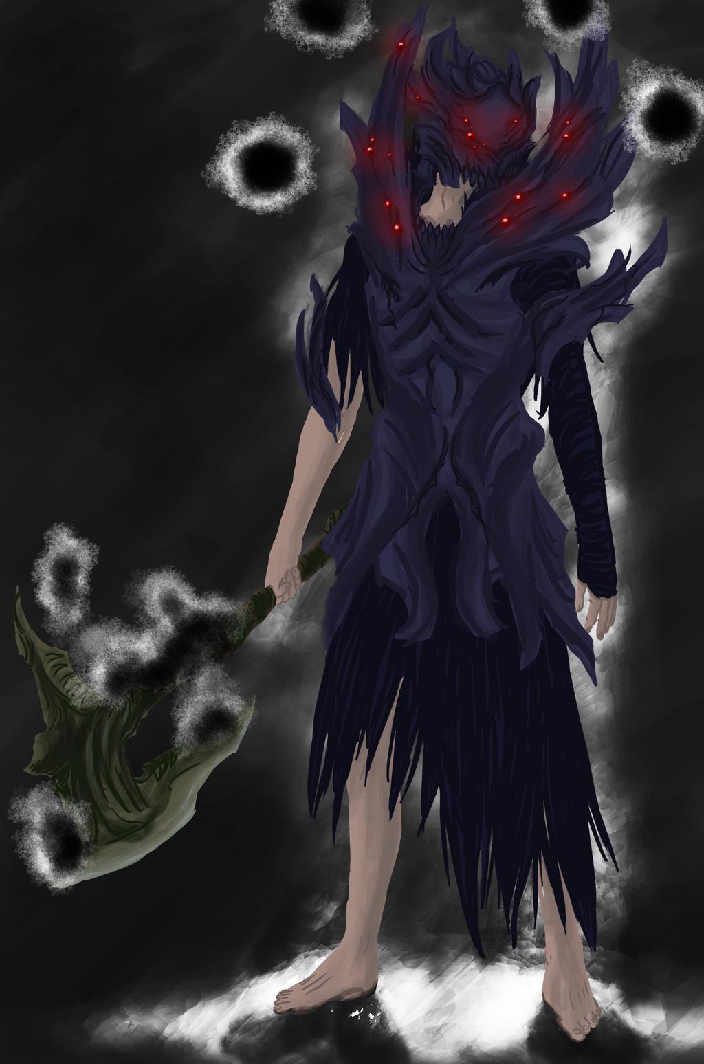 dark souls manus armor by tosthage on deviantart
