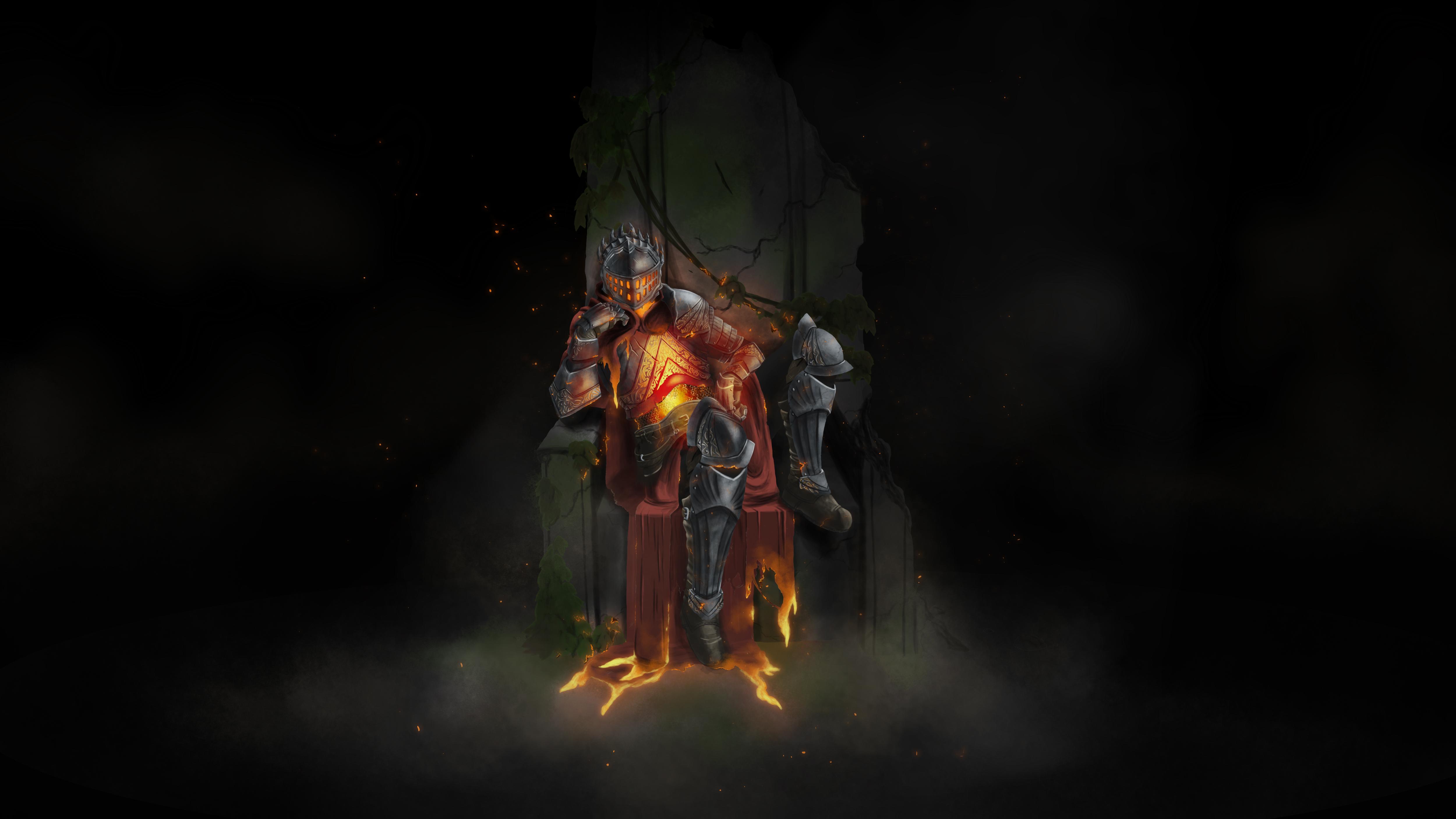Dark Souls Fire Keeper Hd Live Video Wallpaper Desktophut