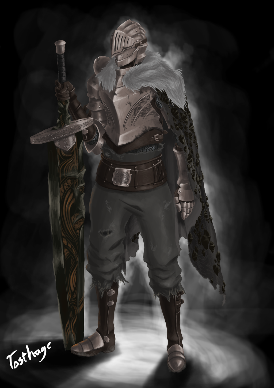 dark souls iii dragonslayer by tosthage on deviantart