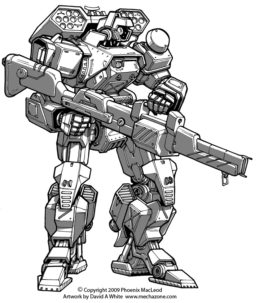 Freelance Mecha Design 02 by Mecha-Zone