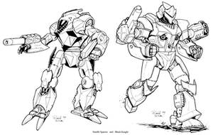 2 New Battletech Mechs by Mecha-Zone