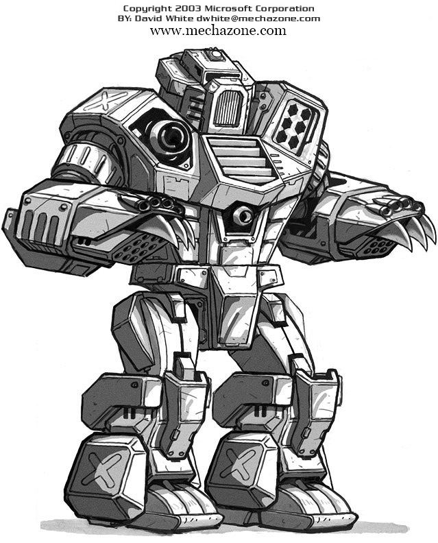 MechWarrior 4 Kodiak by Mecha-Zone