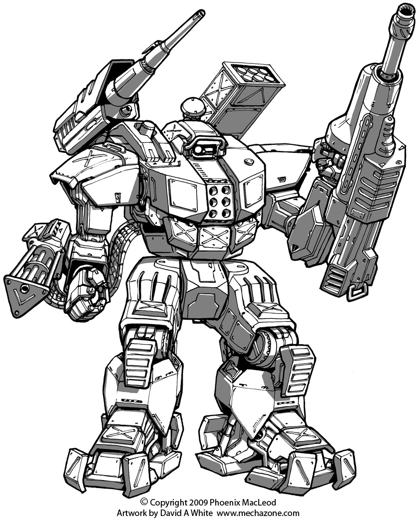 Freelance Mecha Design 05 by Mecha-Zone