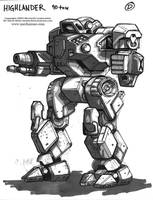 MechWarrior 4 Highlander by Mecha-Zone