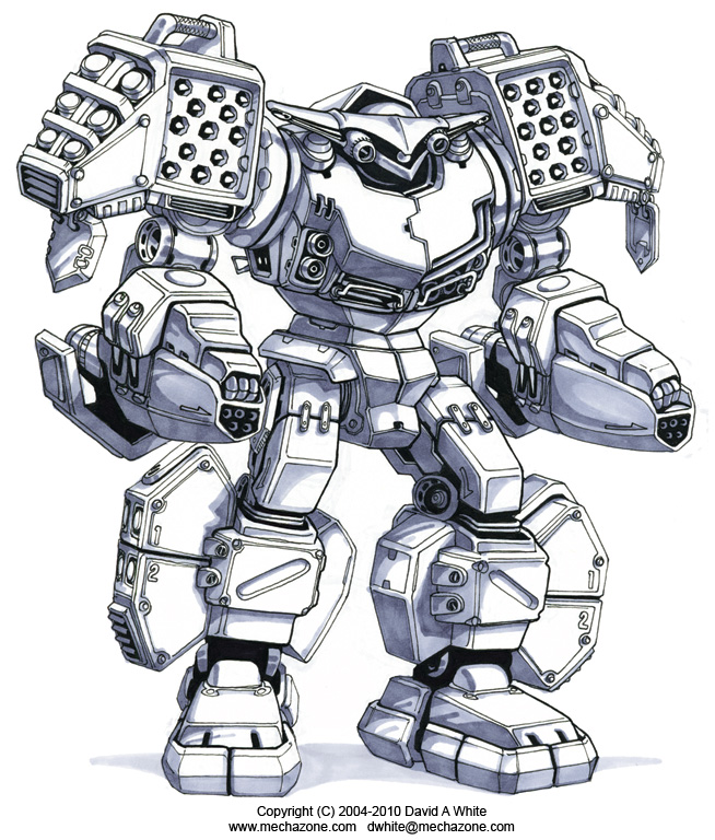 Mecha Zone: Grenade Bot 3.0 by Mecha-Zone