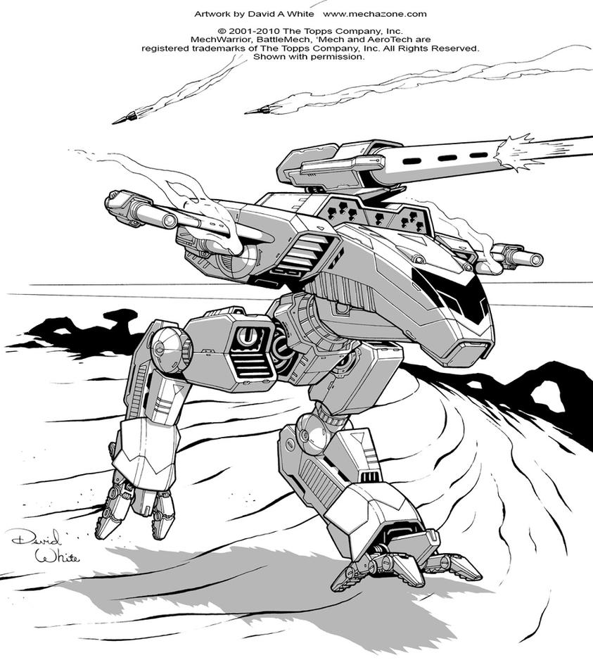 Battletech: Osprey by Mecha-Zone