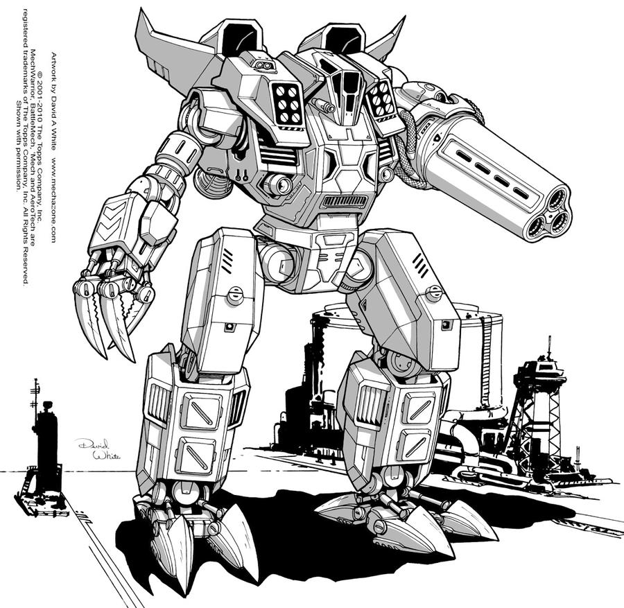 Battletech: Onager by Mecha-Zone