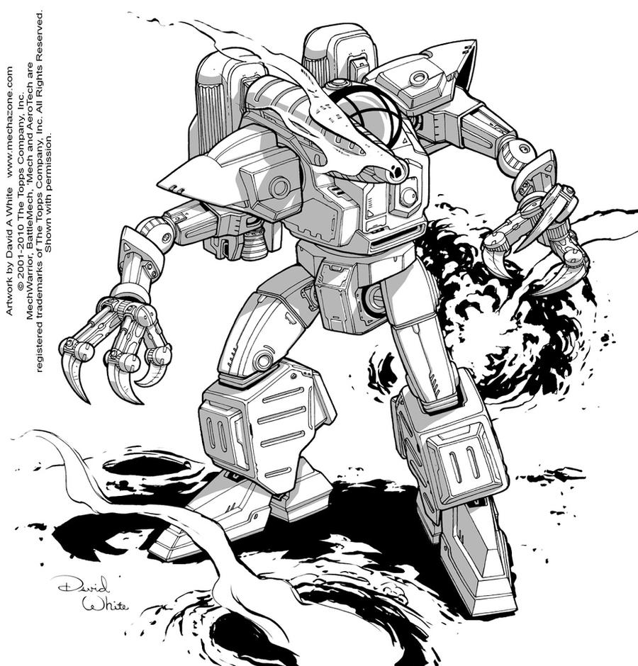 Battletech: Pack Hunter by Mecha-Zone