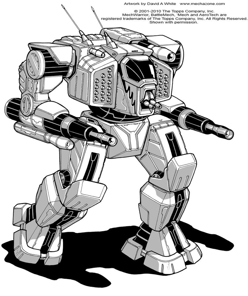 Battletech: Woodsman by Mecha-Zone
