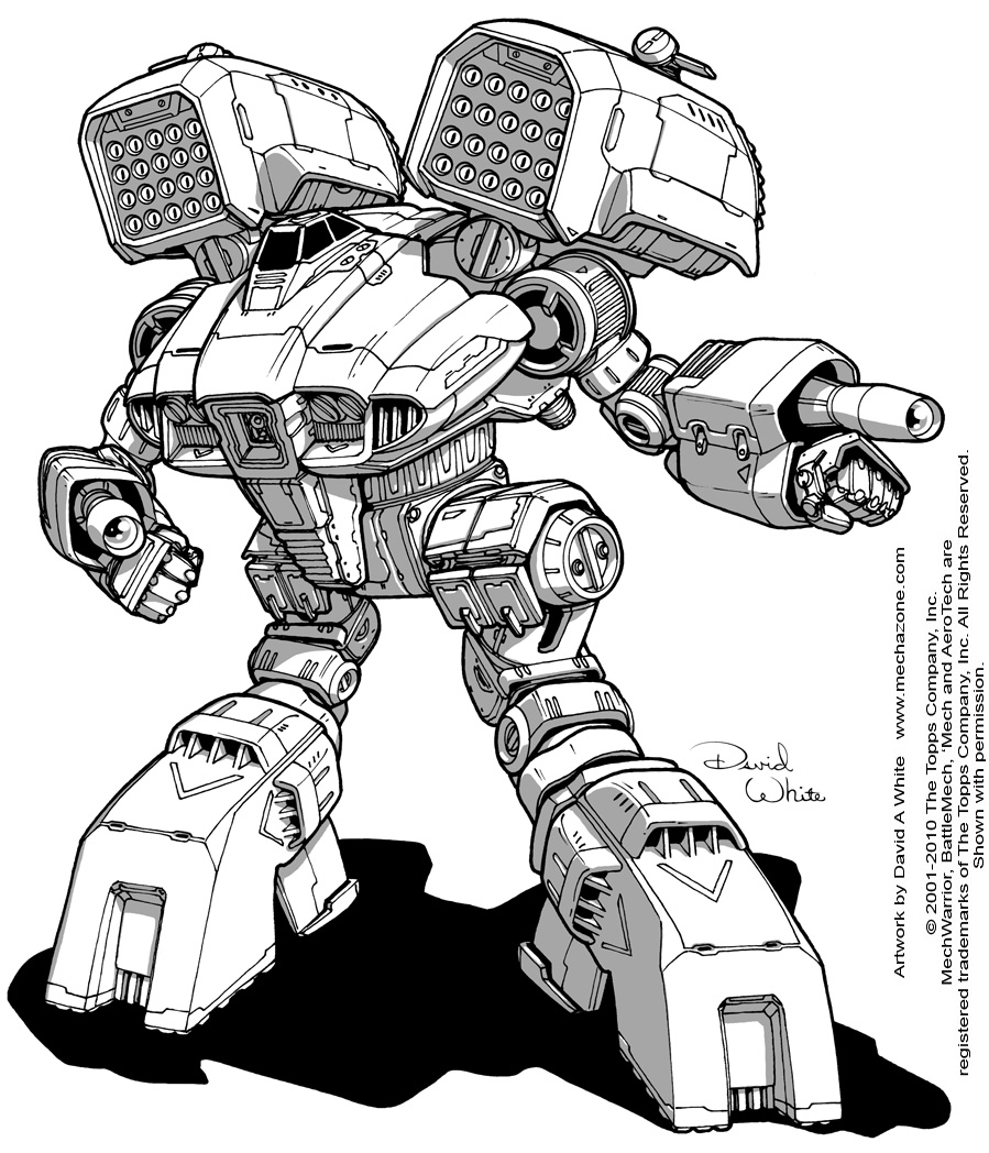 Battletech: Lupus by Mecha-Zone