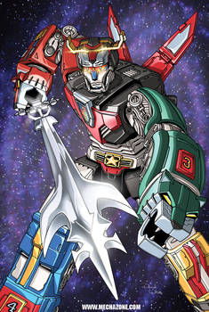 Voltron: United and Drawn