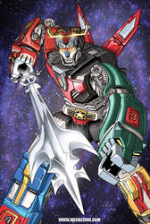 Voltron: United and Drawn by Mecha-Zone