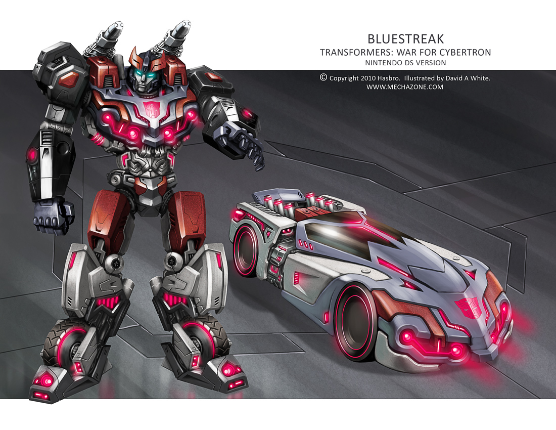 Transformers WfC: Bluestreak by Mecha-Zone