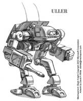 MechWarrior 4 Uller by Mecha-Zone