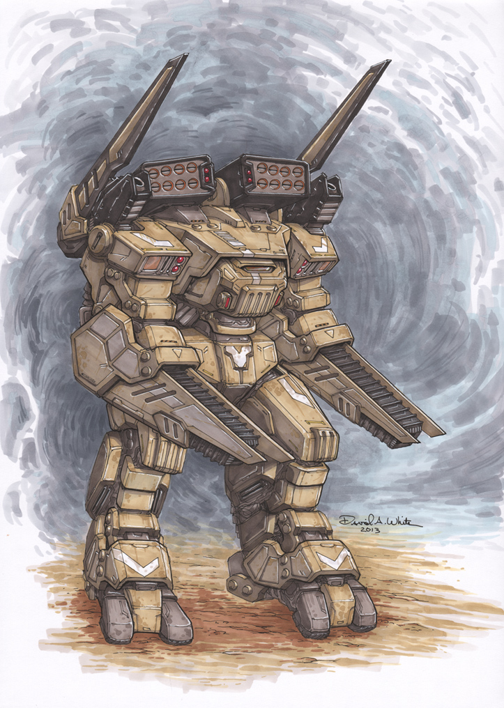 FOE Mech by Mecha-Zone