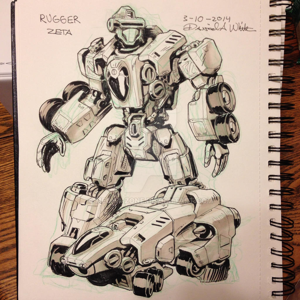 March of Robots 10/31 by Mecha-Zone