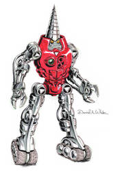 Microman Missiler Homage by Mecha-Zone