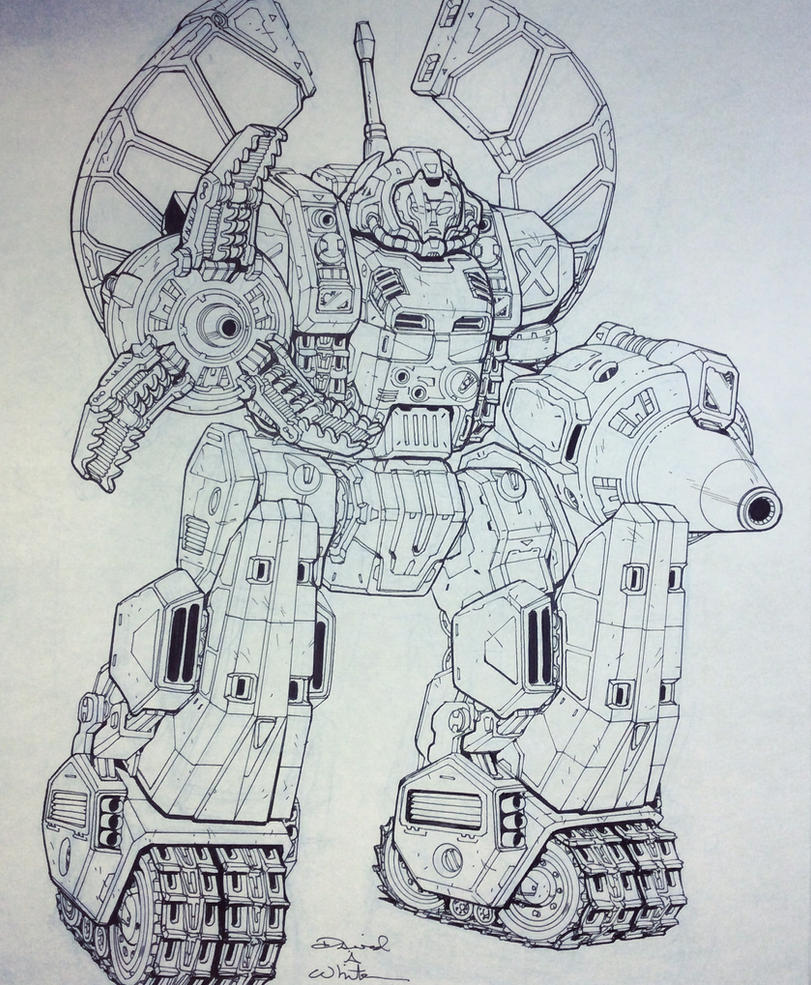 Omega Supreme for March of Robots 2017 by Mecha-Zone