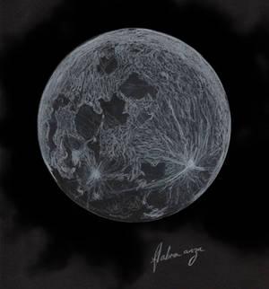 Etude de lune - Moon study