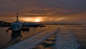 Tobago:  Boat Trip by 1rainmaker