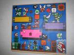 Super Mario Bead Painting