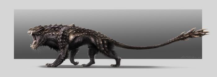 Creature design by ChristopherOnciu