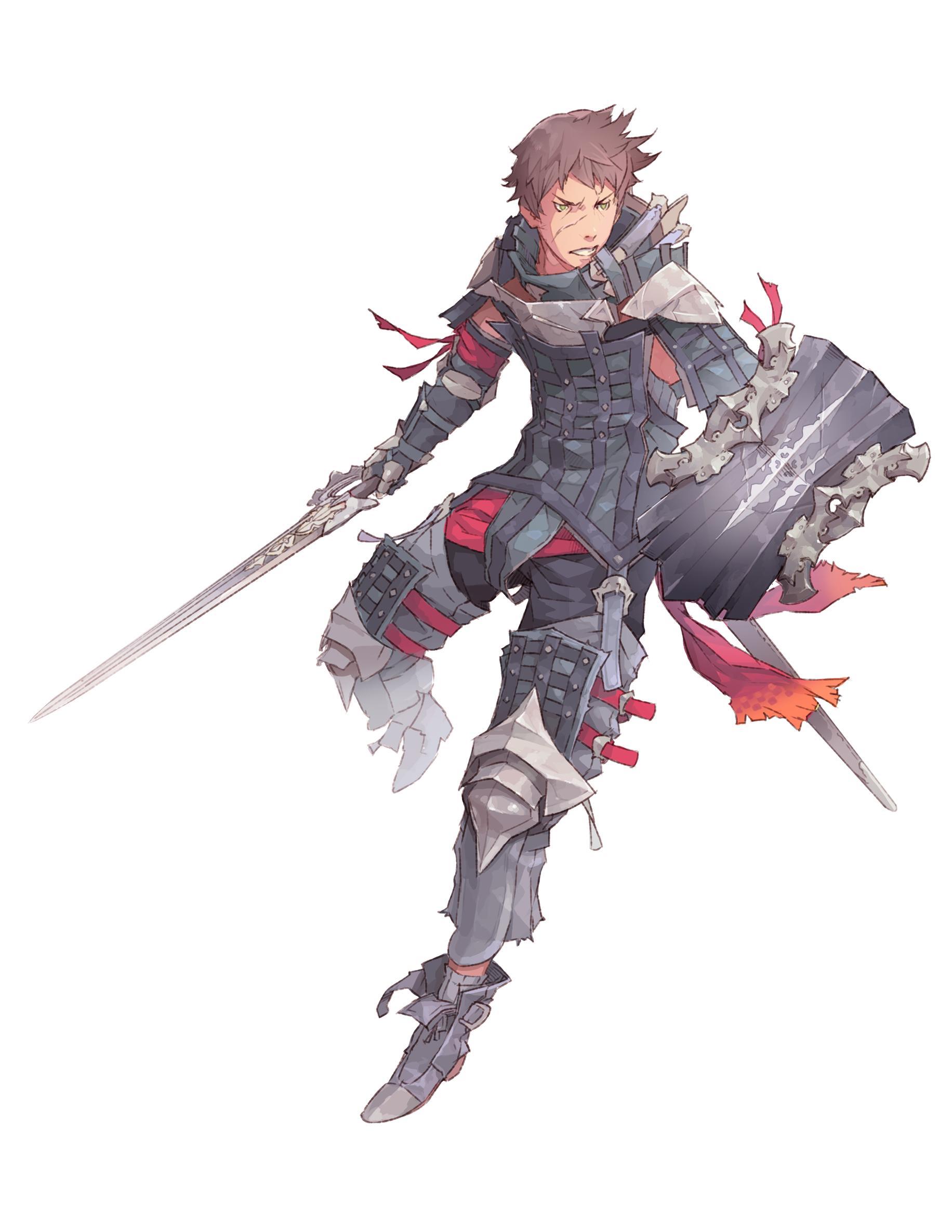 Swordsman by ChristopherOnciu