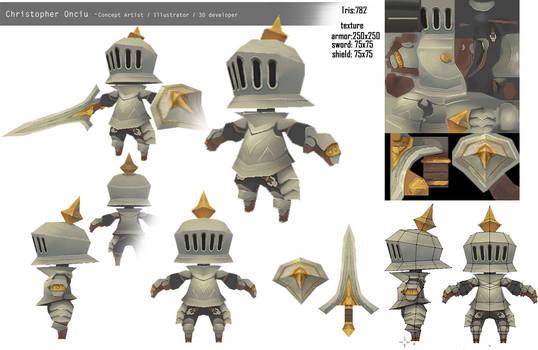 Bucket Knight [Blender]