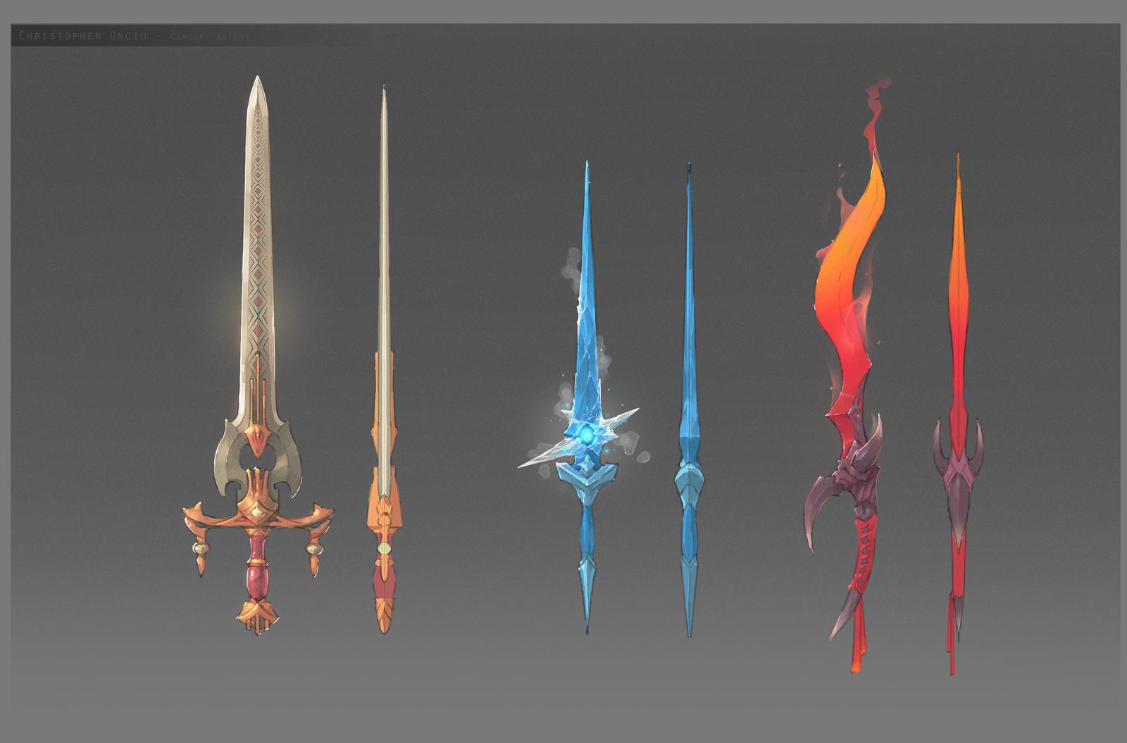 weaponry by ChristopherOnciu