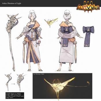 Character Design: Ashia
