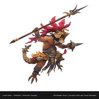 RPG Project: Gladiator/Lizard Race by ChristopherOnciu