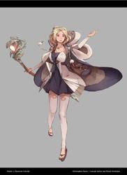 RPG Project: Healer by ChristopherOnciu