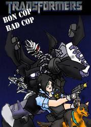 TF: Bon cop bad cop comic? by TeaDarkA