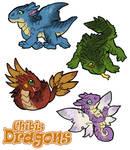 Chibis dragons