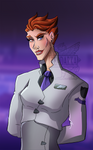 Moira in her Lab