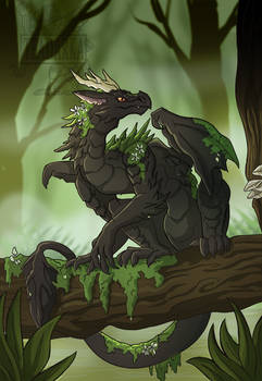 Swamp Mini Dragon