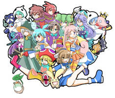 puyo puyo characters by sachi-10