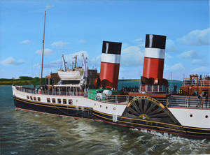 The Paddle Steamer Waverley
