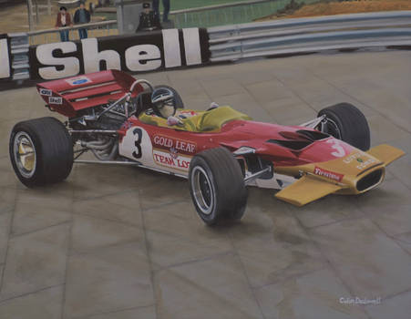 Jochen Rindt, Lotus 49C Monaco GP 1970