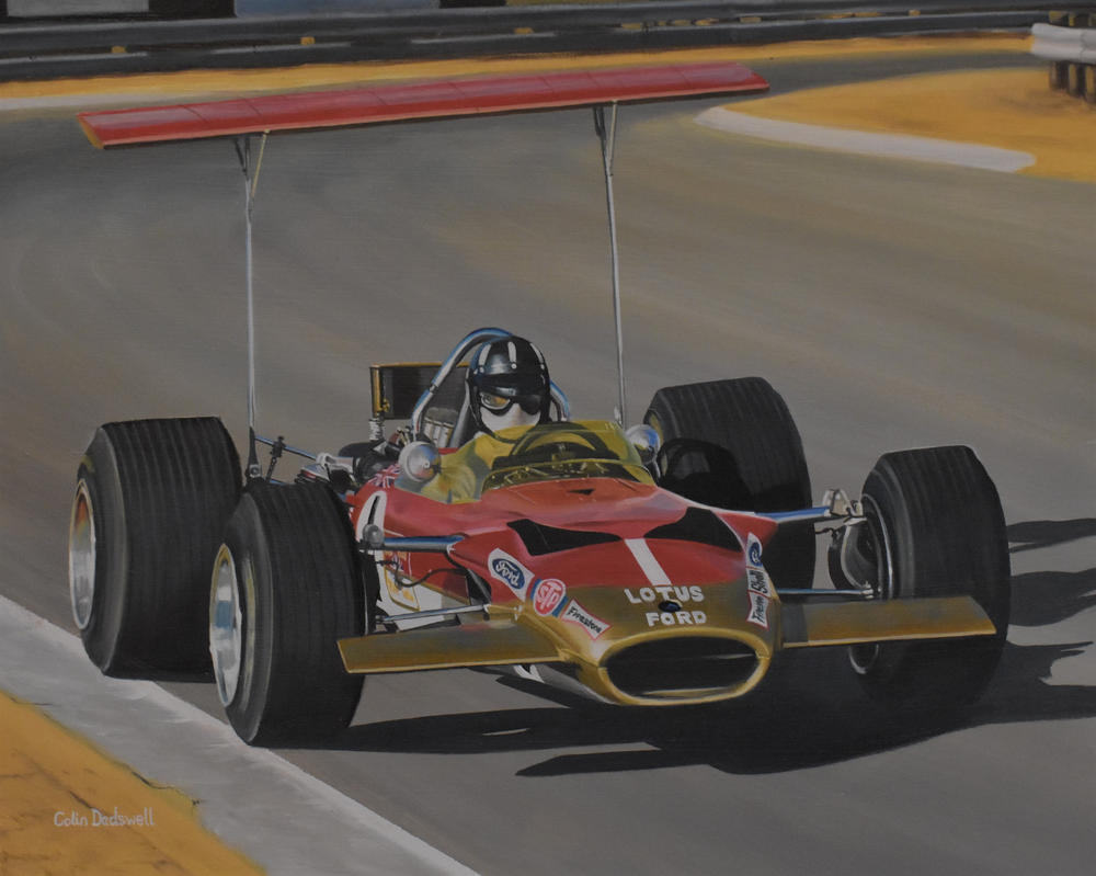 Graham Hill 'CARD' 49B by huckerback6