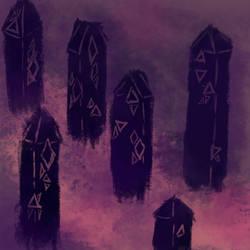 Thing's Obelisks by Dreamborne-Fool