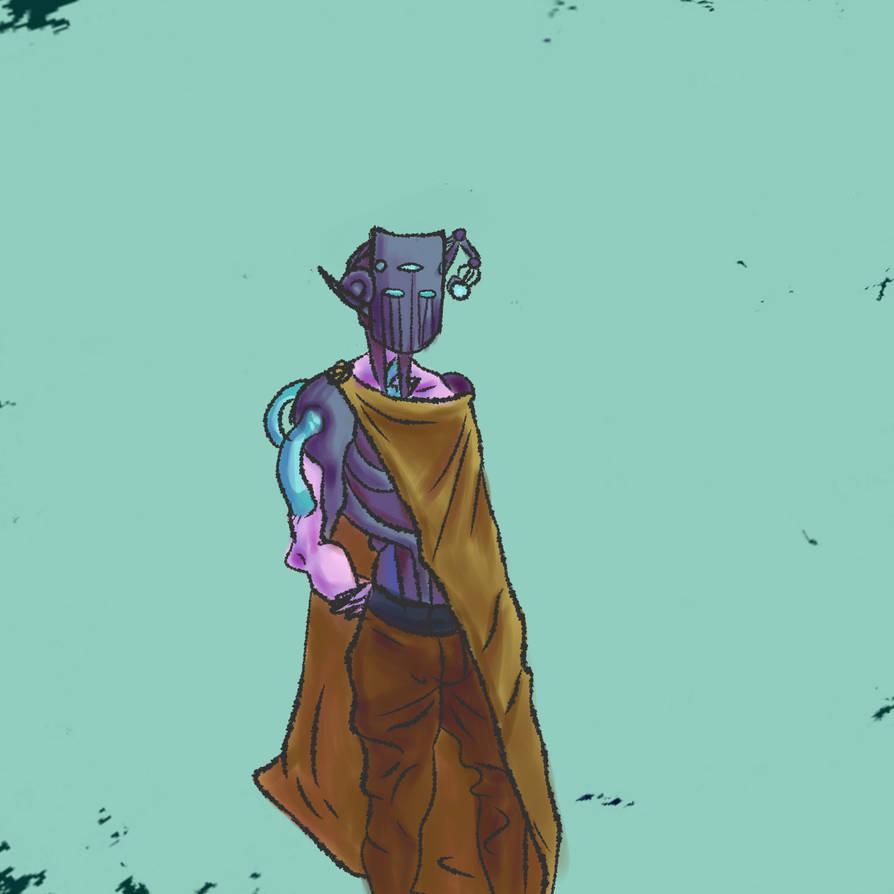 Cyborg thing by Dreamborne-Fool