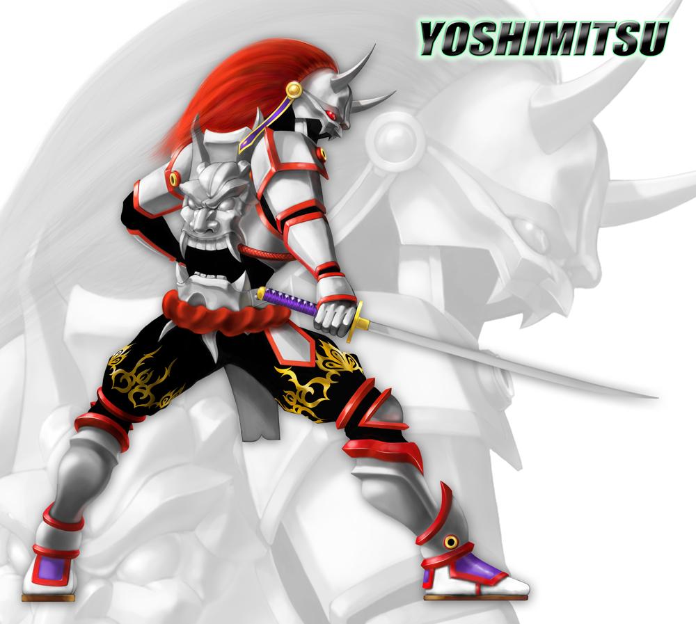 Yoshimitsu By Pvproject On Deviantart