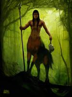 Centaur Slayer by PVproject