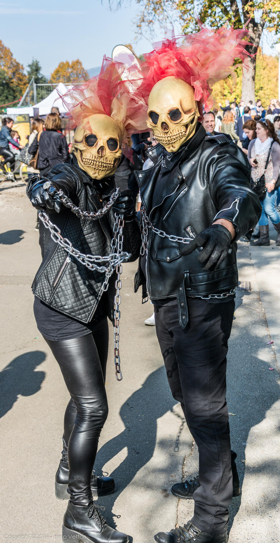 Mr. And Mrs. Ghost Rider by PVproject on DeviantArt