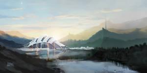 Sci-Fi Concept Landscape
