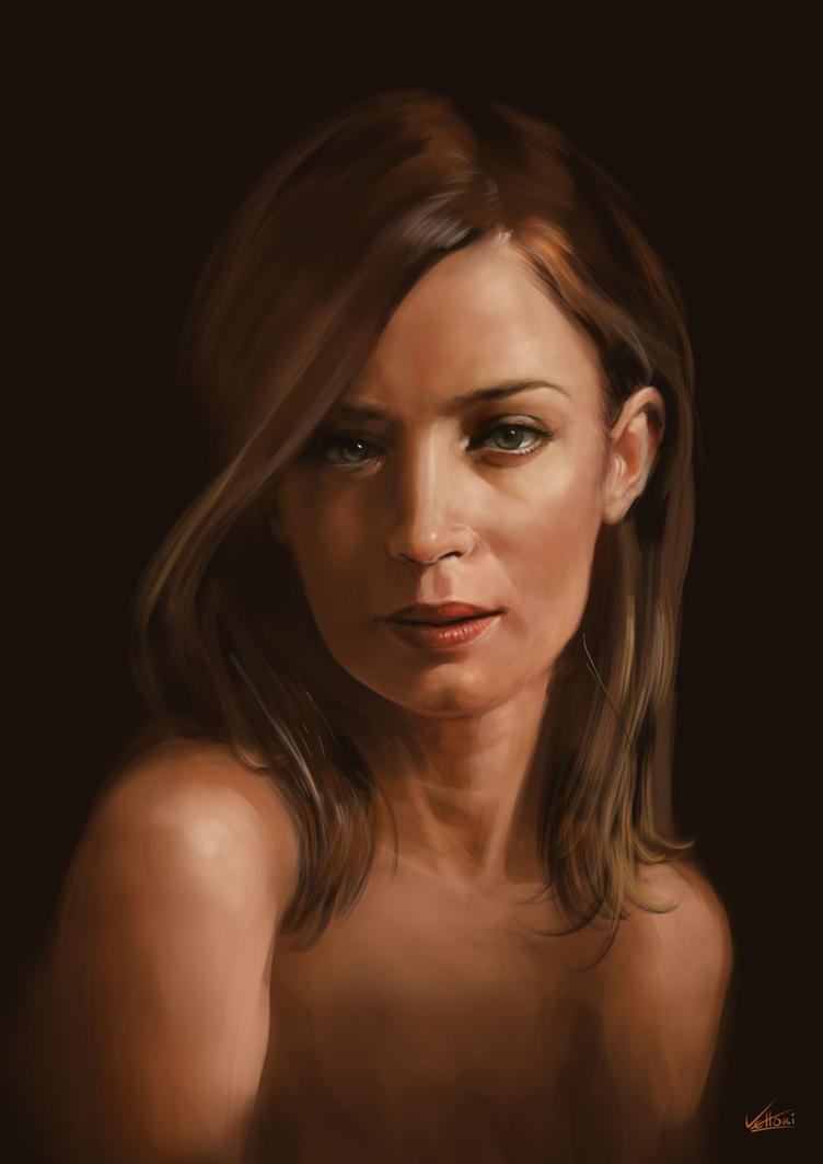 Emily Blunt by PVproject