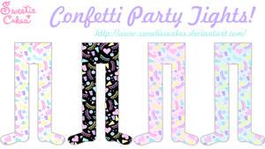 Confetti Party Tights