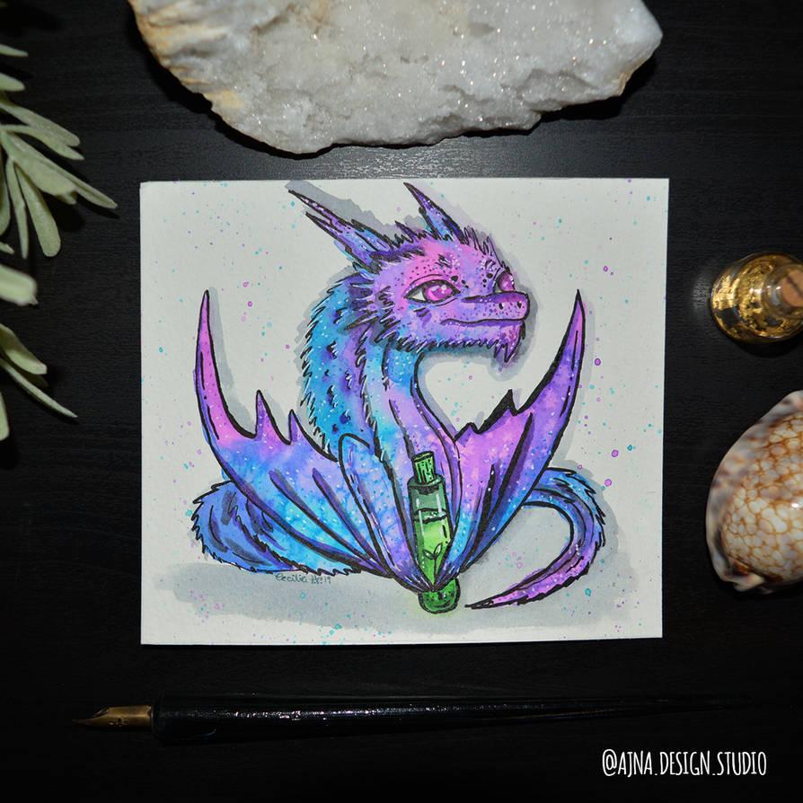 Day 12 - Dragon - Katnipp